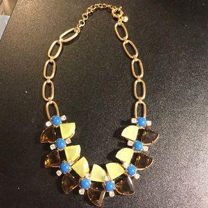 J Crew Swarovski Crystal statement necklace